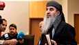Mullah Krekar puhui medialle Oslon käräjäoikeudessa.