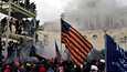 Trumpin kannattajat järjestivät viikko sitten keskiviikkona mellakan ja ryntäsivät joukolla kongressitaloon Washingtonissa.