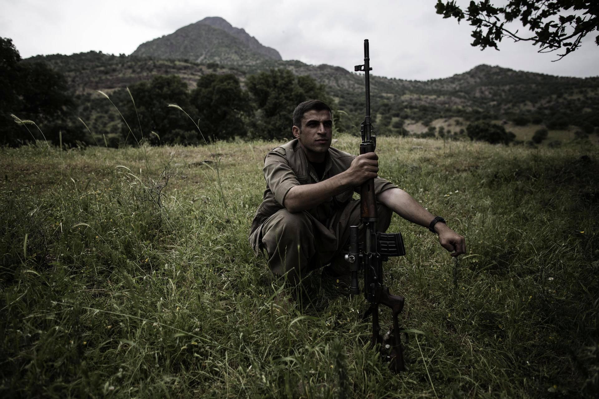 Dijwar on elänyt Qandilin vuorilla kaksi vuotta.