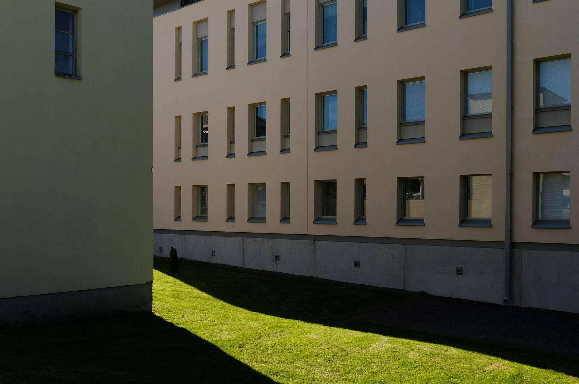 Vanhan Vaasan sairaalan suljetulla osastolla ikkunat ovat panssarilasia.