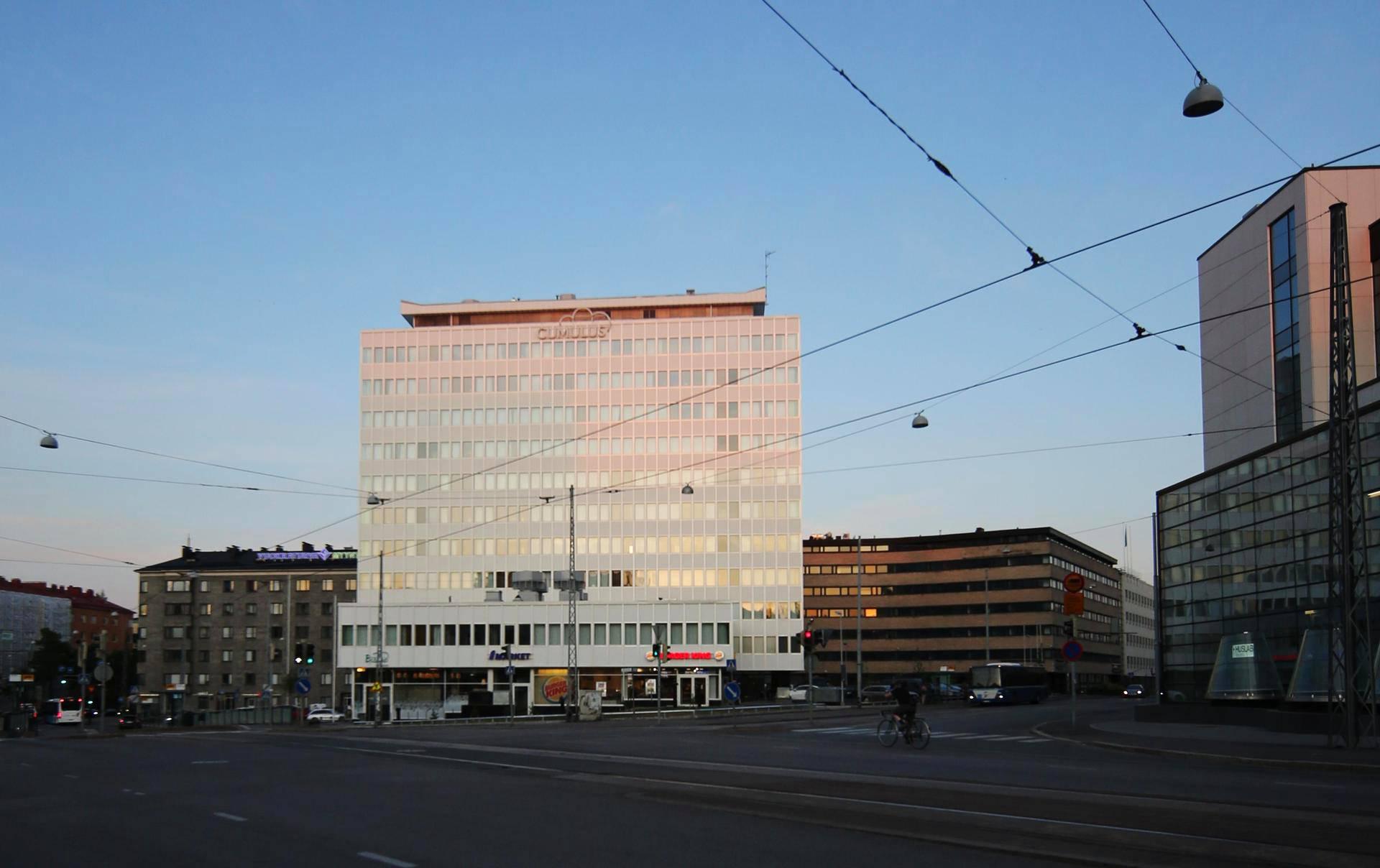 Juuri avattu hotelli Cumulus Meilahti.