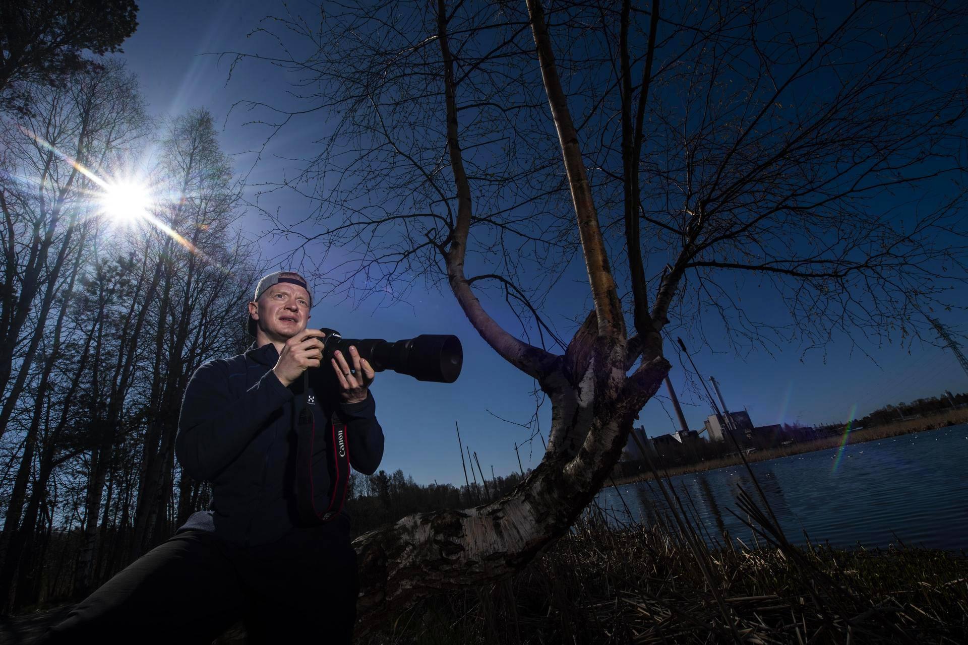 Helsingin IFK:n kapteeni Lennart Petrell on aggressiivisesta pelityylistä tunnetun seuran ruumiillistuma. Luontopoluilla samoaa rauhallisesti hengittävä mies.