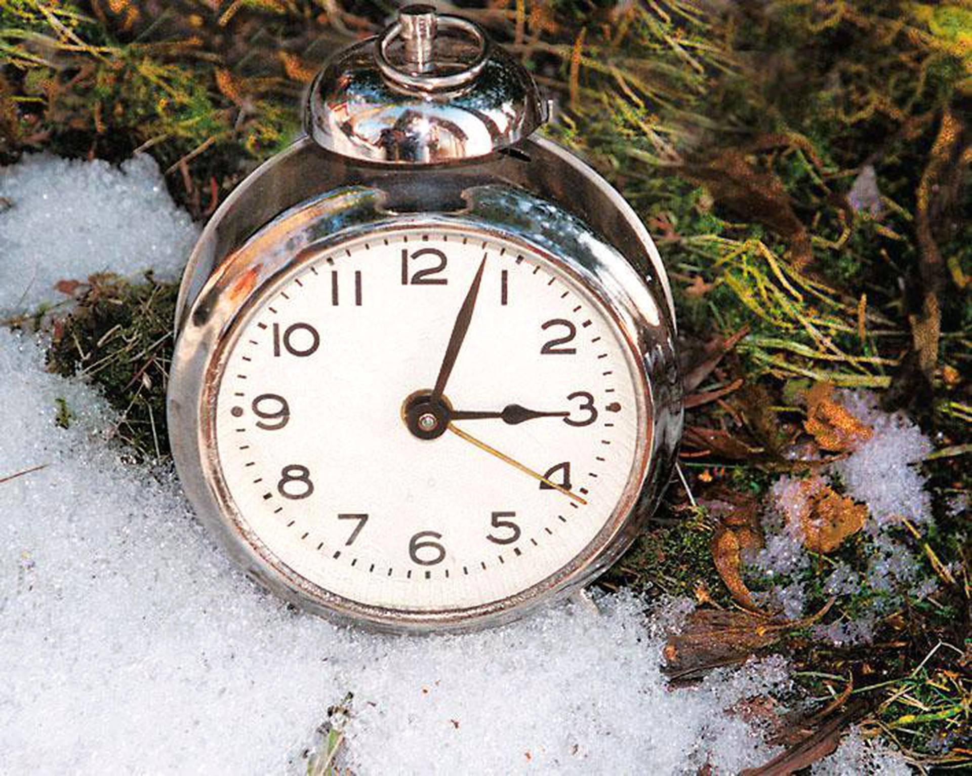 Kellot Talviaikaan