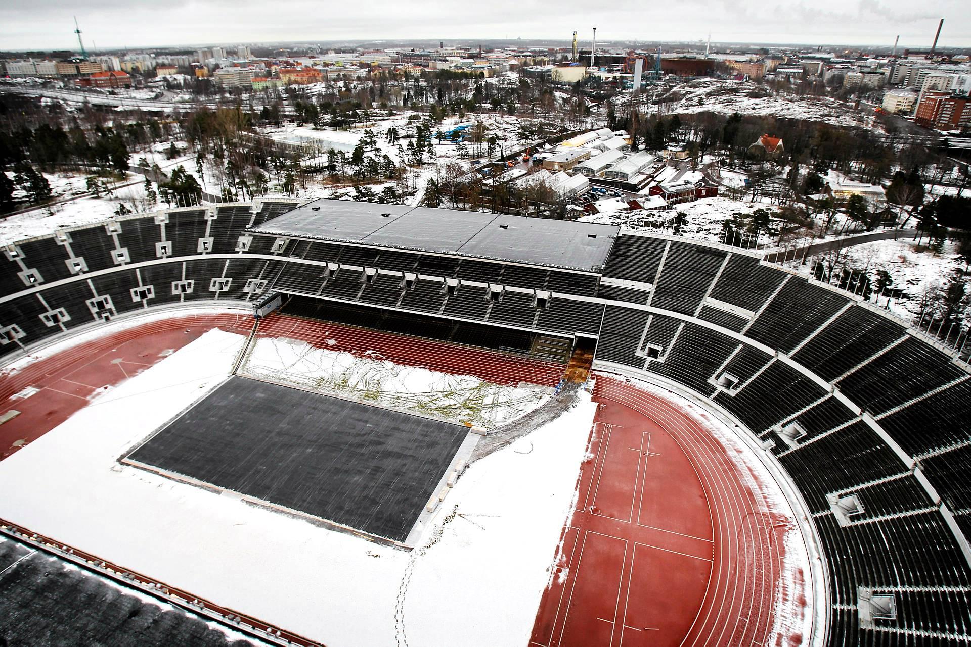 olympiastadion remontti