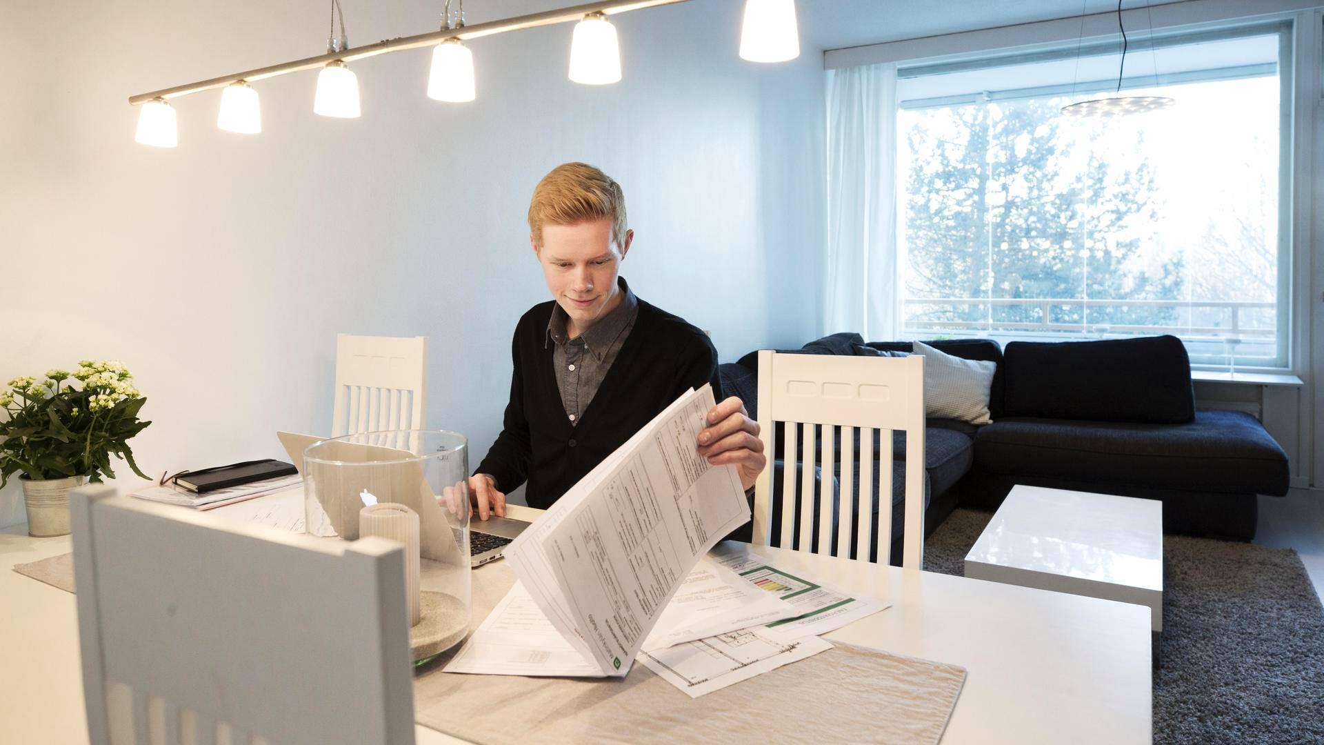 Kun Richard Westerlund sai asuntoilmoituksen nettiin, hän käytti viikon ajan kaiken vapaa-aikansa kotinsa myymiseen.
