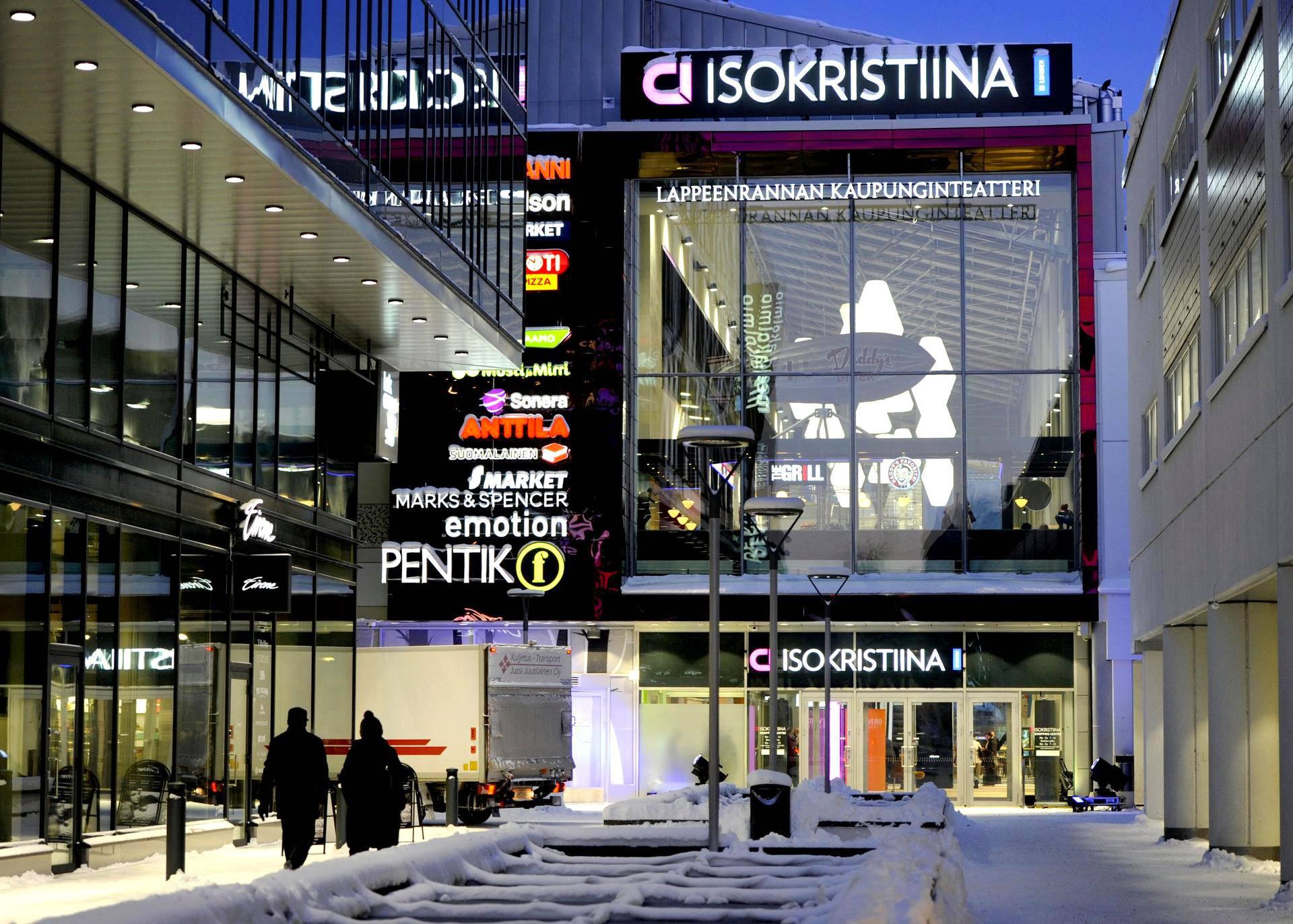 Lappeenrannan kaupunginteatteri löytyy nyt kauppakeskuksesta.