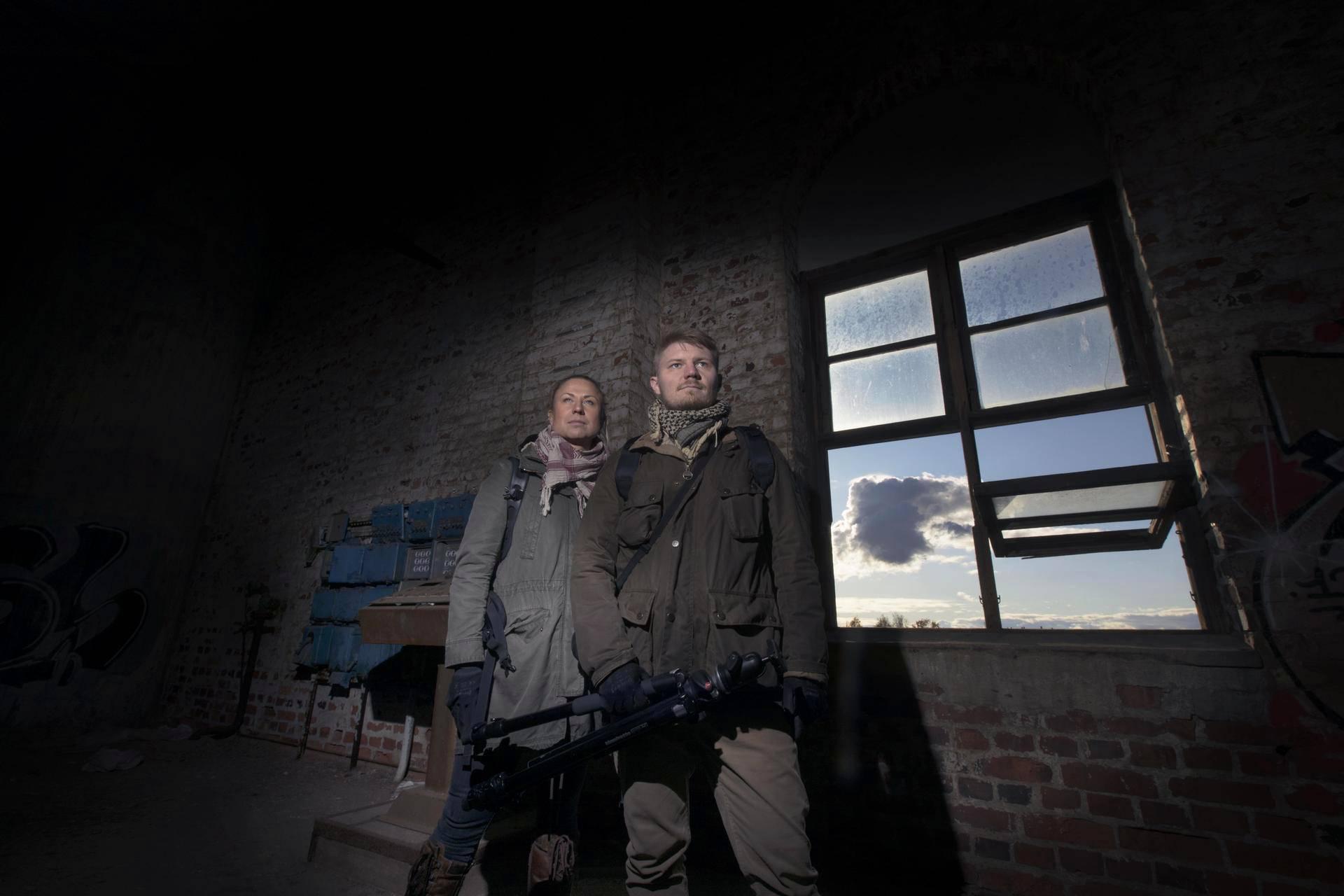 Tanja Palmunen ja Kimmo Parhiala ovat harrastaneet urbaania löytöretkeilyä kaksi vuotta.