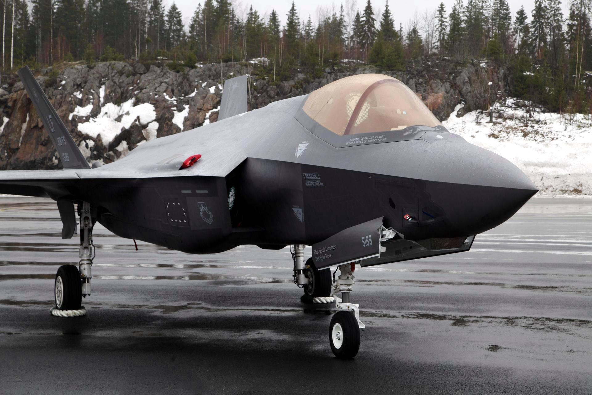 F 35 Hävittäjä
