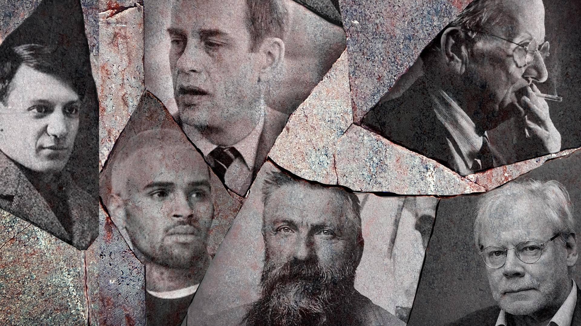 Pablo Picasso (vas.), Chris Brown, Jörn Donner, Auguste Rodin, Tyko Sallinen ja Lauri Törhönen ovat vain joitain niistä miestaiteilijoista, jotka ovat kohdelleet muita törkeästi.