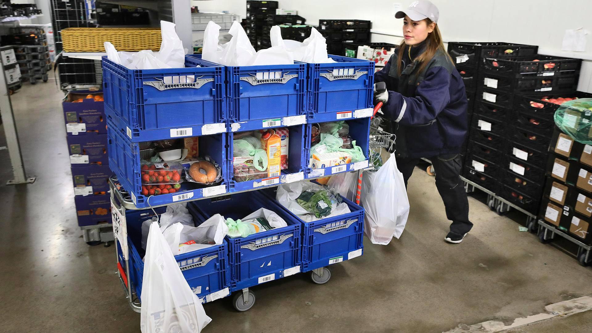 Saako ruokakassit eteiseen samana päivänä ja voiko perunat tilata  tasakokoisina – HS vertaili ruoan verkkokauppoja ja kotiinkuljetuksia  pääkaupunkiseudulla ... 683e67f5e7