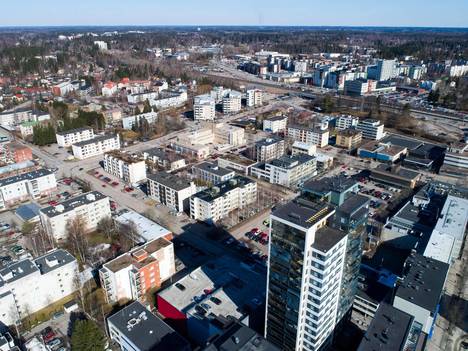 Järvenpää Asukasluku