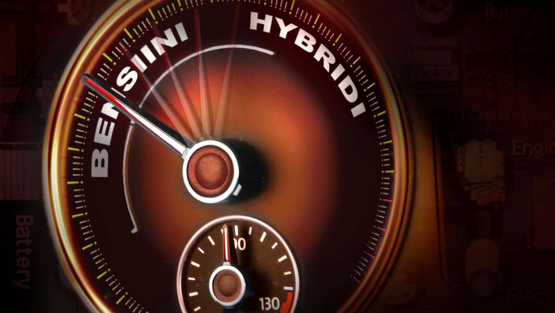 Hybridiautojen suosio on nousussa.