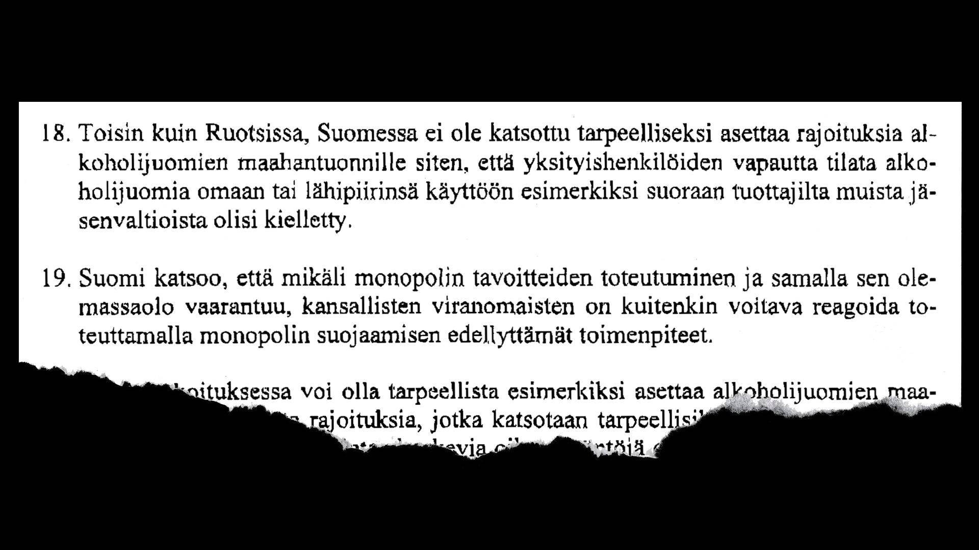 Alkoholin Tilaaminen Virosta