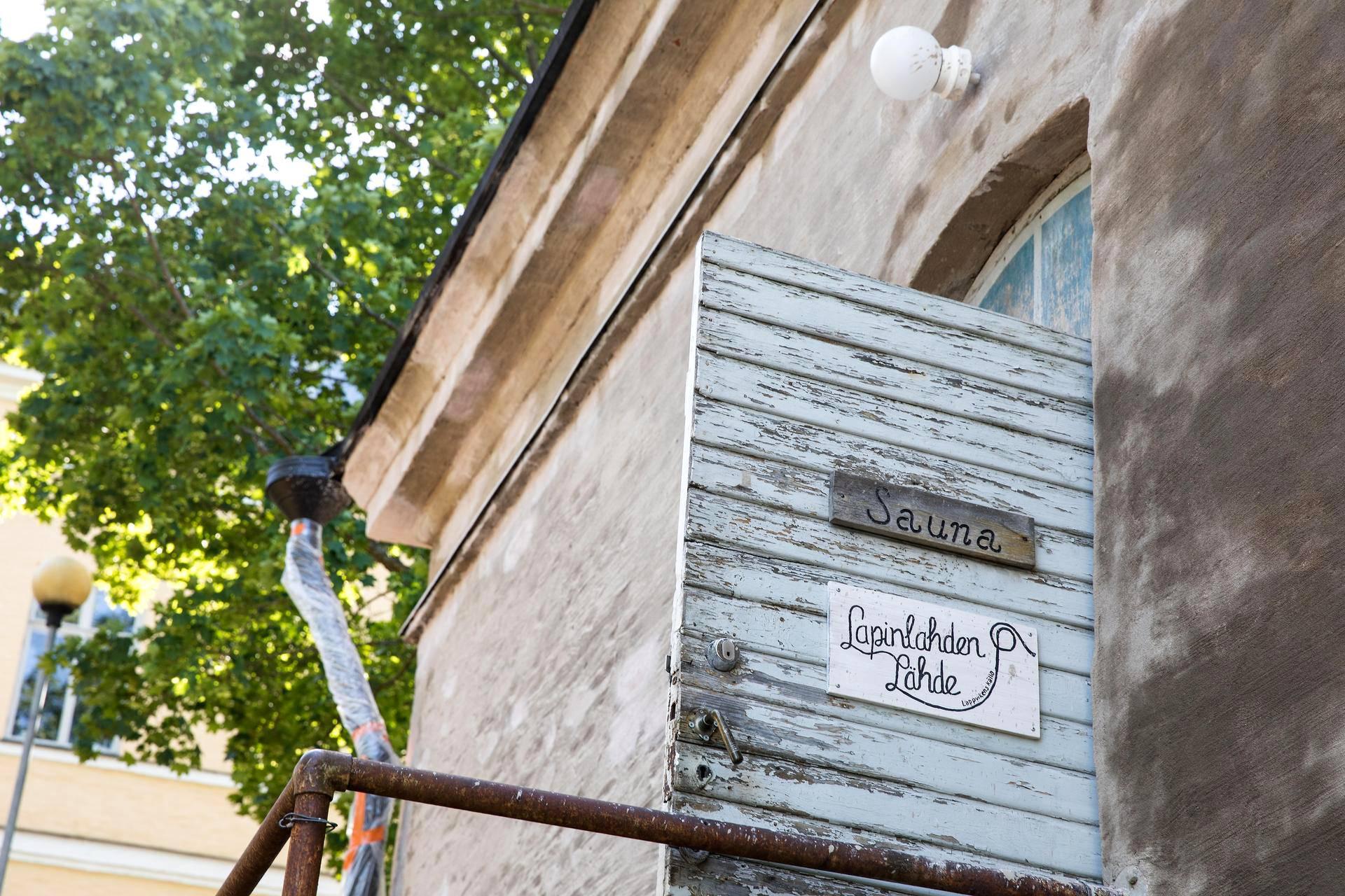 Lapinlahden Lähteen sauna on yksi Helsingin tuntemattomista saunahelmistä.