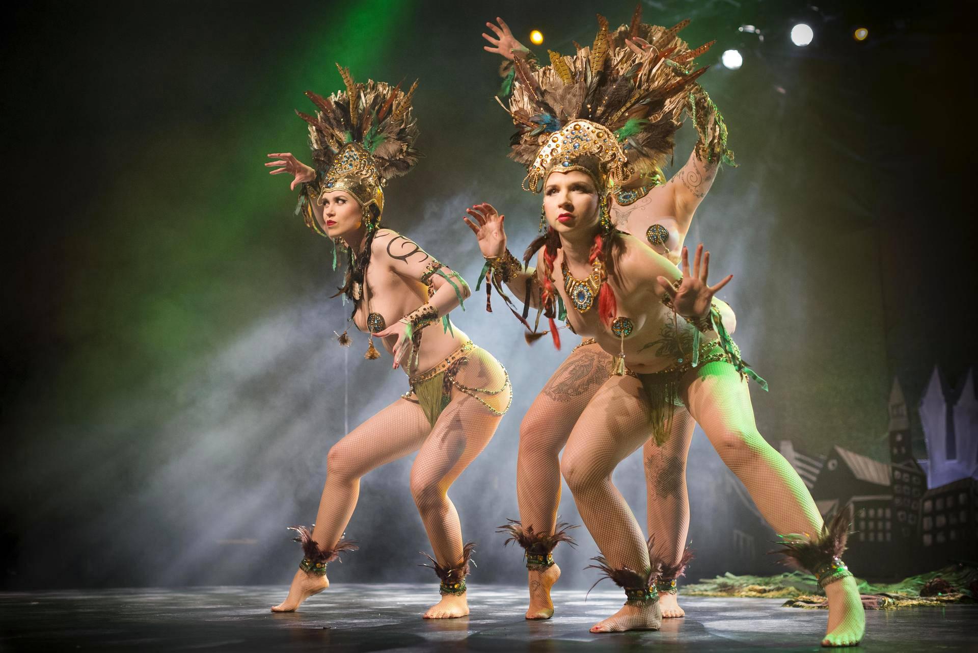 The Savage Girls -ryhmä esiintyi festivaalilla vuonna 2013.