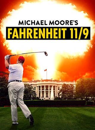 Fahrenheit 11/9 -elokuvan juliste.