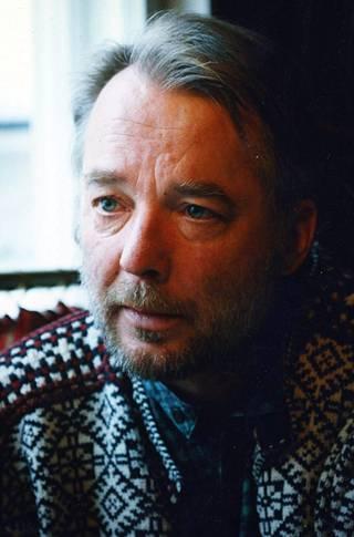 Tapaamassa Matti Pulkkista Hämeenlinnassa vuonna 1995.