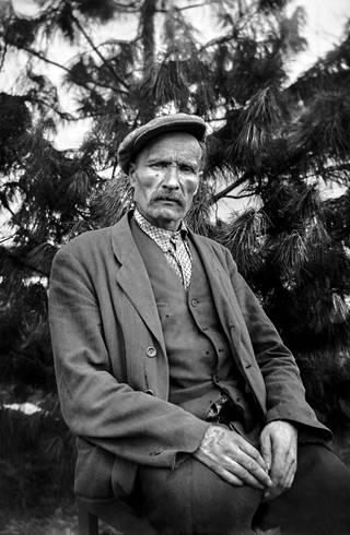 Matti Körkkö kuvasi myös Nätti-Jussin, pohjoisen legendaarisen metsätyömiehen.