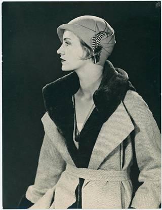 1920-luvulla Lee Miller työskenteli valokuvamallina New Yorkissa.