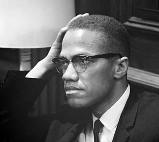 Malcolm X maaliskuussa 1964.