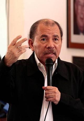 Presidentti Daniel Ortega