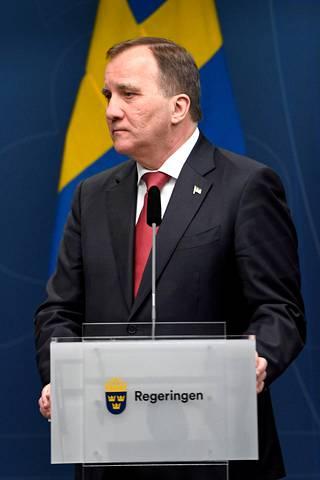 Ruotsia johtaa sosiaalidemokraatti Stefan Löfven.