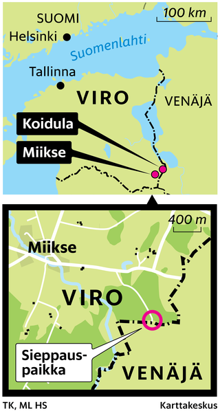 Eston Kohver siepattiin vuosi sitten syyskuussa Miiksessä. Vaihto maanpetoksesta tuomittuun turvallisuuspoliisi Aleksei Dresseniin tapahtui lauantaina Koidulan kylässä.