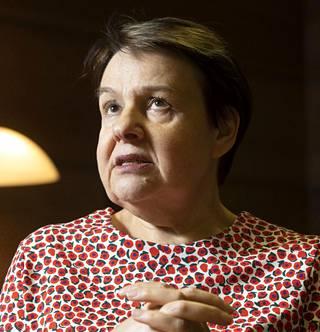 Sosiaali- ja terveysministeriön (STM) kansliapäällikkö Kirsi Varhila.