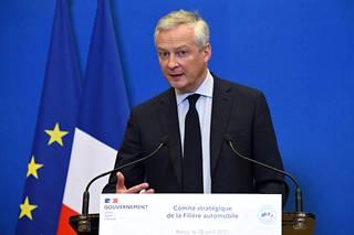 Ranskan valtiovarainministeri Bruno Le Maire