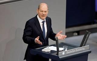Saksan valtiovarainministeri Olaf Scholz