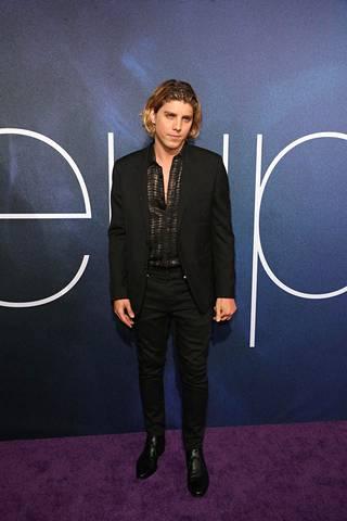 Lukas Gage tv-sarja Euphorian Los Angelesin ensi-illassa vuonna 2019.