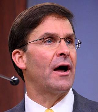 Puolustusministeri Mark Esper