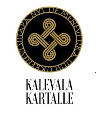 Kalevala kartalle -hankkeen logo
