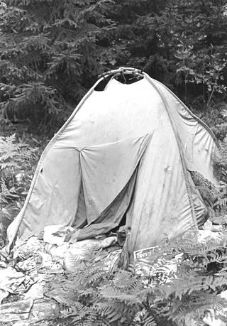 Joku Mankkaalle päätyneistä alkoholisteista vietti kesää 1985 teltassa.