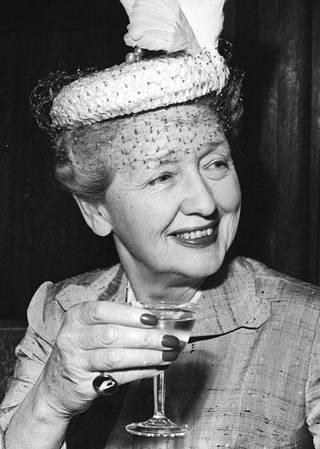 Hedda Hopper.