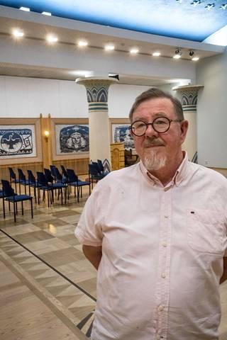 """Temppeliä ei mainosteta aktiivisesti, eivätkä jäsenet tee aktiivista käännytystyötä, kertoo Jarmo Anttila. """"Sanotaan, että mestari tulee kun oppilas on valmis."""""""