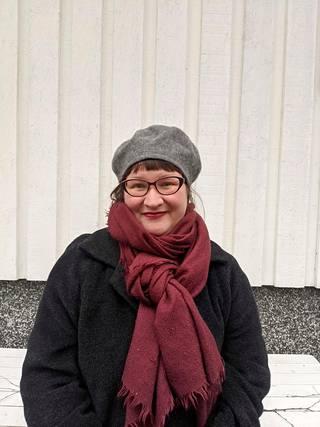 Maaria Ylikangas on Kritiikki näkyy! -hankkeen koordinaattori.