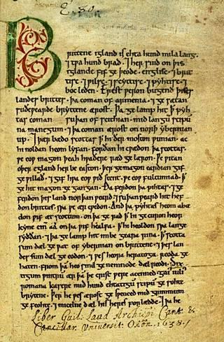 Peterboroughin kronikka kirjasi keskiajan tapahtumia.