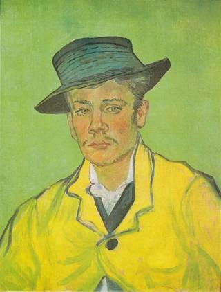 Vincent van Gogh: Armand Roulinin muotokuva (1888).