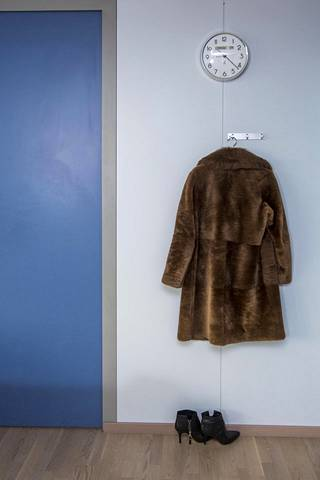 Margrethe Vestager's coat and shoes.