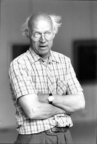 Aimo Tukiainen kuvattuna vuonna 1983.