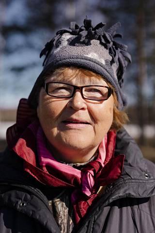 Ritva Ikäläinen.