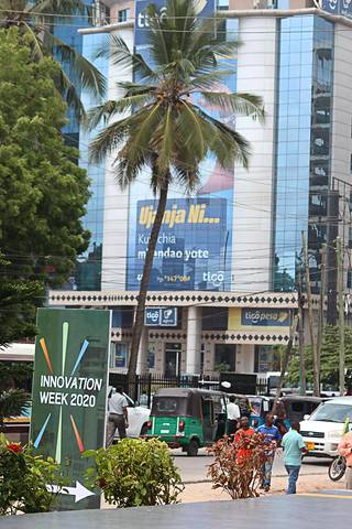 Dar es Salaam on Tansanian suurin kaupunki, jossa on yli kuusi miljoonaa asukasta.
