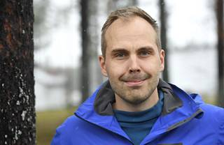 Martin Norrgård, Finnish skiers' maintenance manager.
