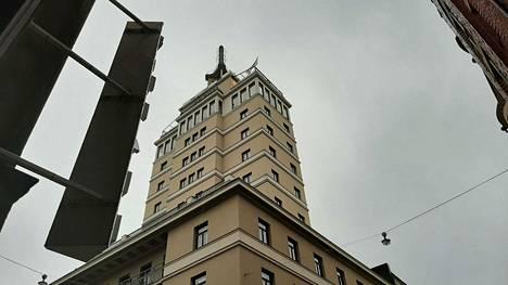 Hotelli Torni oli valmistuessaan vuonna 1931 Suomen korkein hotelli.