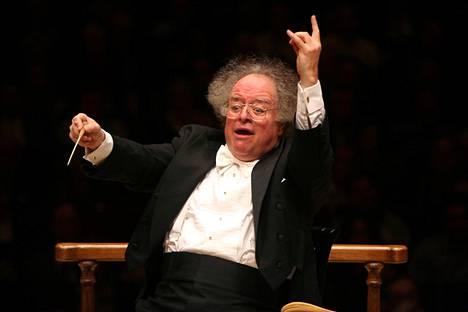 James Levine Bostonin sinfoniaorkesterin konsertissa vuonna 2010.