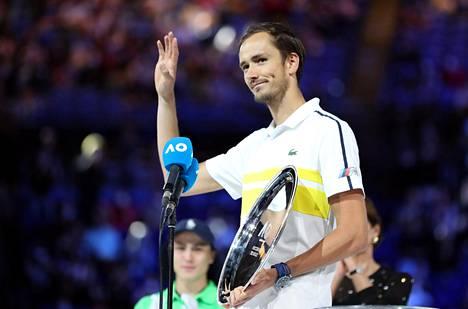 Venäjän Daniil Medvedev keksi selityksen maailman tenniskärjen menestykselle.