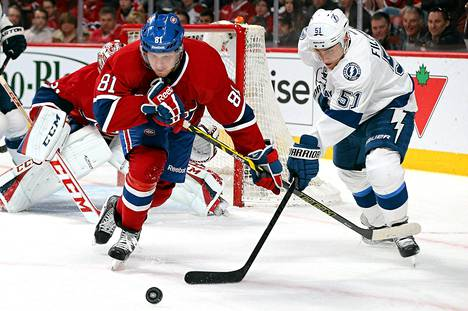 Valtteri Filppulan Tampa karsiutui NHL:n pudotuspelien avauskierroksella.