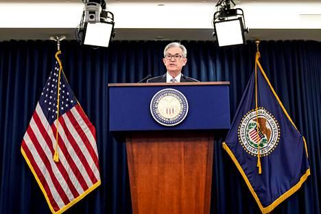 Yhdysvaltojen keskuspankki Fedin pääjohtaja Jerome Powell on rauhoitellut huolta inflaation kiihtymisestä.