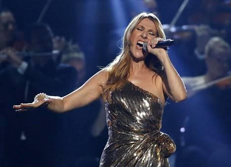 Celine Dion Suomessa